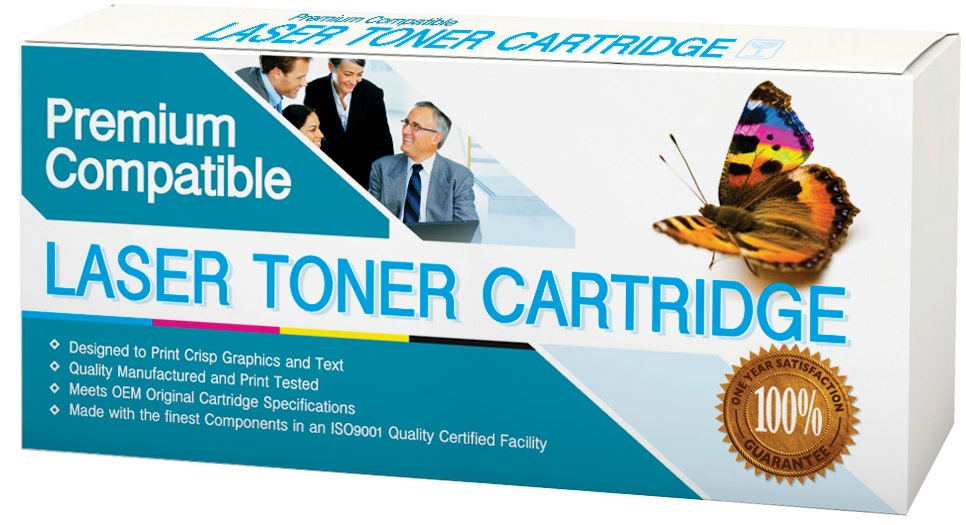100% GUARANTEED Compatible with HP Hi-Yield black toner cartridge. 9,000 page yield (compare with HP CF226A = 3,100 page yield)